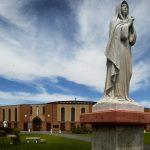Kemartiran & Warisan Kuil Nasional Lady of Martyrs Roma di Auriesville di Amerika New York