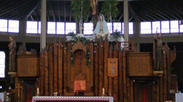 Kuil Nasional Lady of Martyrs Roma di Auriesville di Amerika New York yang Bersejarah
