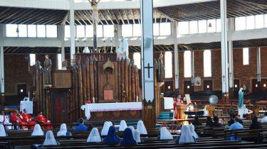 Cobalah Untuk Liburan Ke Kuil Nasional Lady Of Martyrs Roma di Auriesville di Amerika